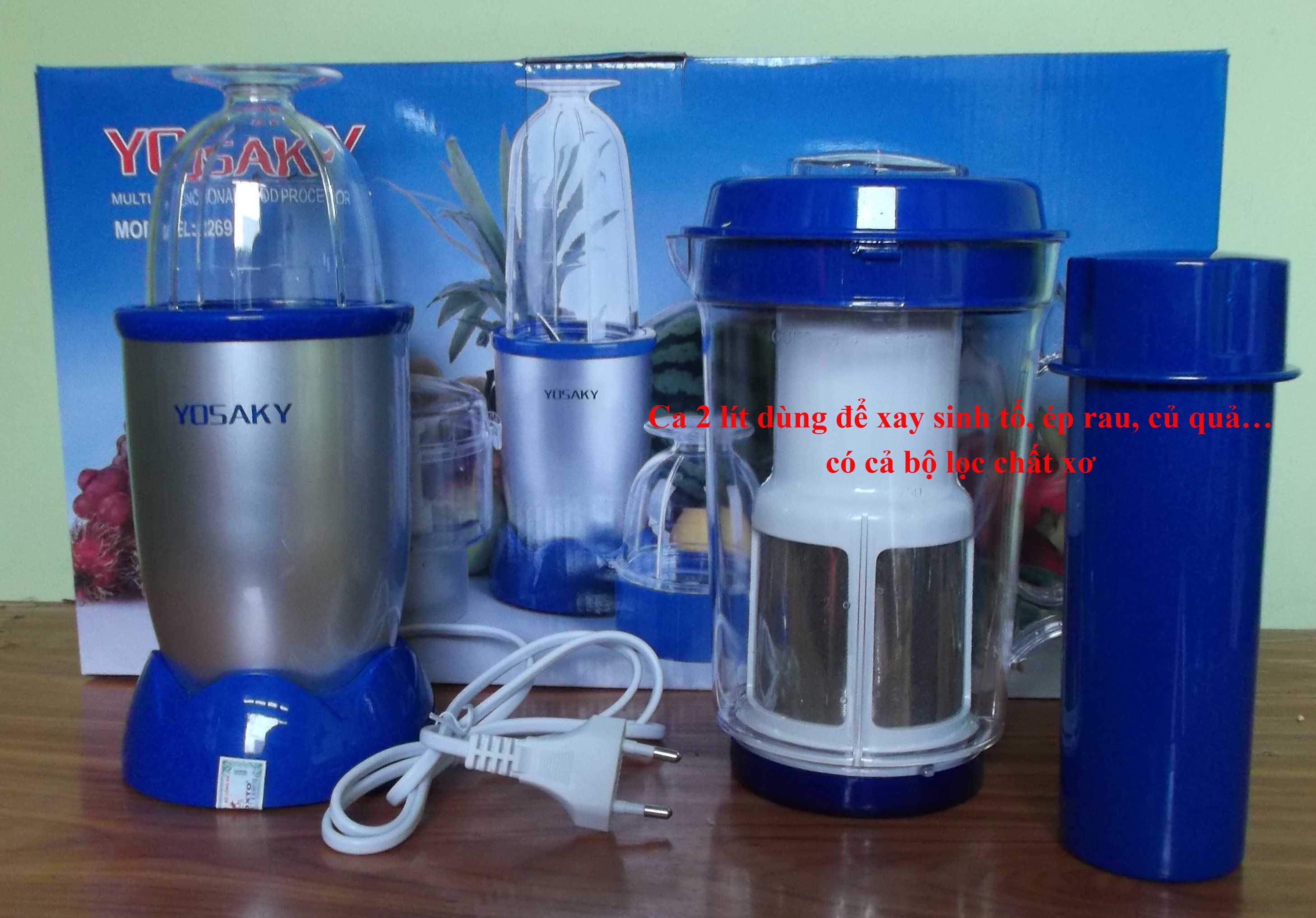 máy xay sinh tố - máy xay đa năng yosaky japan khuyến mãi giảm giá